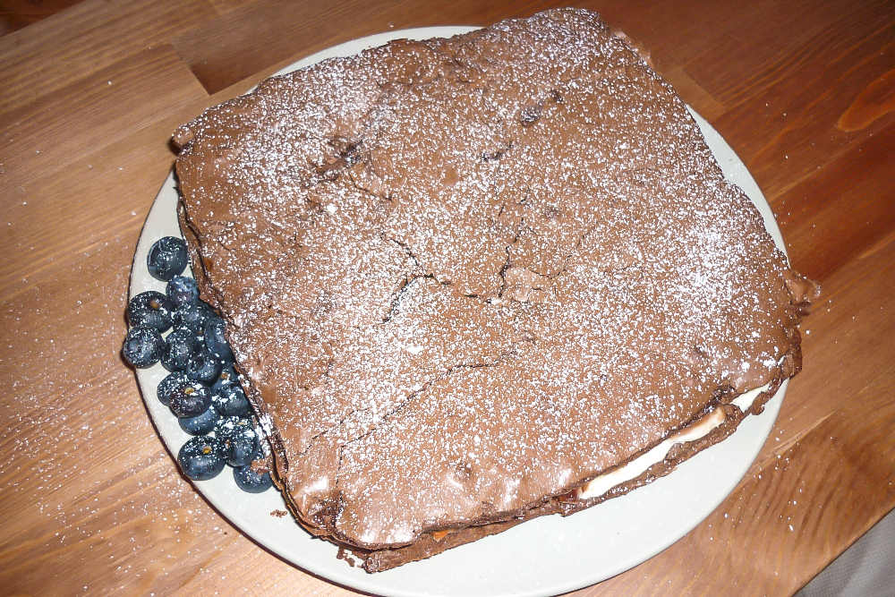 A Swedish Kladdkaka Recipe