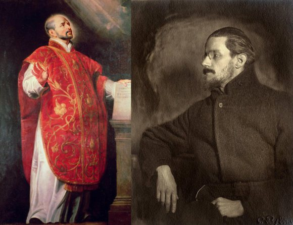 Ignatius Loyola and the Jesuits; and the Jesuits and James Joyce
