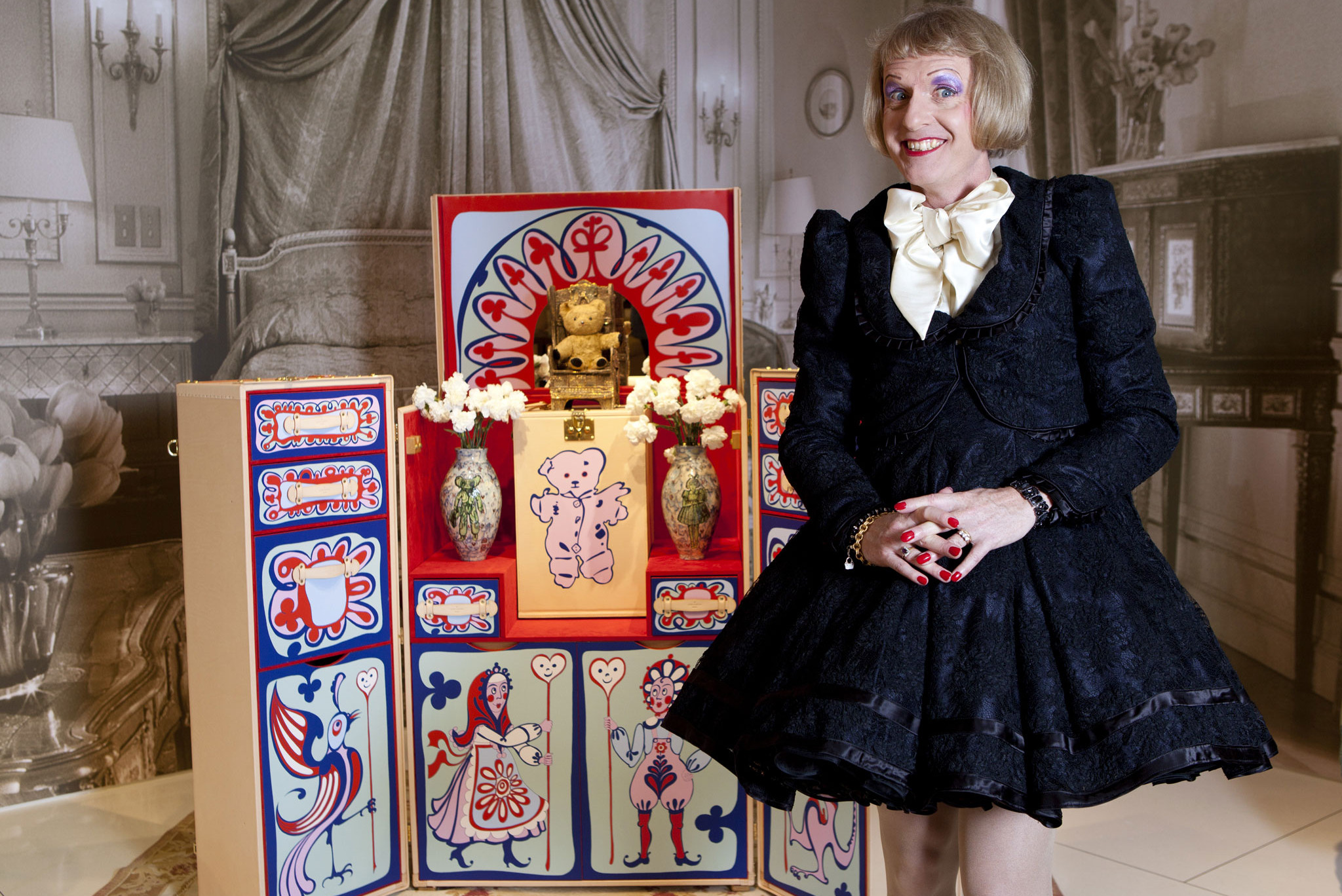 Grayson Perry Plays Hide and Seek in York
