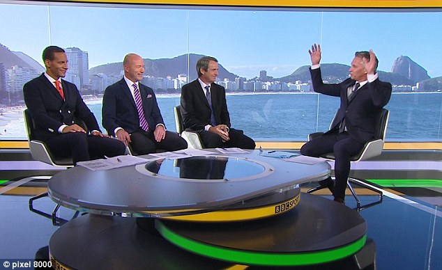 Fashioning a World Cup Final: How the BBC Dressed